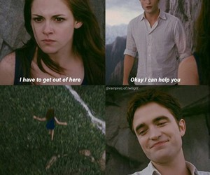 bella and edward, breaking dawn, and twilight image