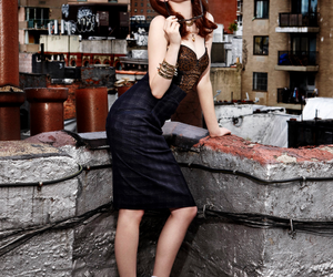 beauty, red hair, and emma stone image