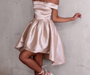 dress, short, and light image