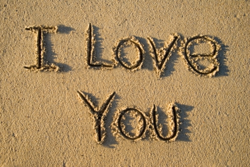 I Love You Love Sand Text Inspiring Picture On Favimcom