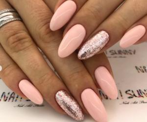 beautiful, long nails, and nails image