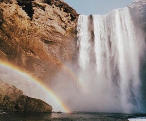 explore, rainbows, and traveling image