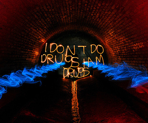 drugs, light, and text image