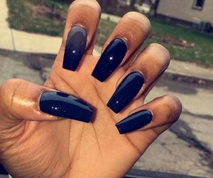 flawless, long, and nails image