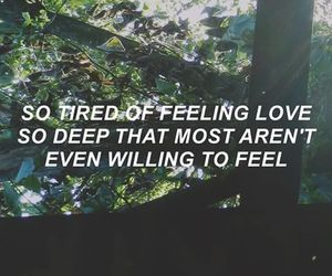 feelings, heartbreak, and quote image
