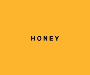 background, honey, and orange image