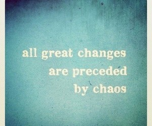chaos, blue, and change image