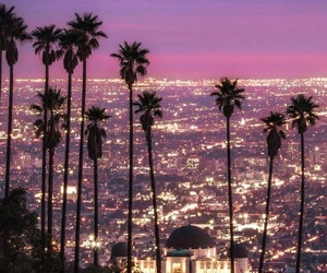 california, citylights, and los angeles image