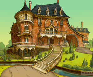 game, professor layton, and solve mysteries image