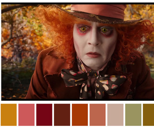 alice, filme, and palette image