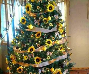 christmas, tree, and fairylights image