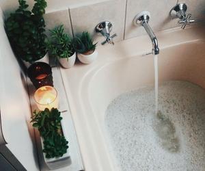 aesthetic, bathroom, and bath image