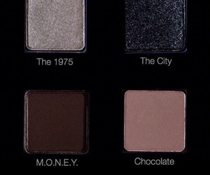makeup, the 1975, and eyeshadow image