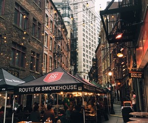 nyc, places, and restaurants image