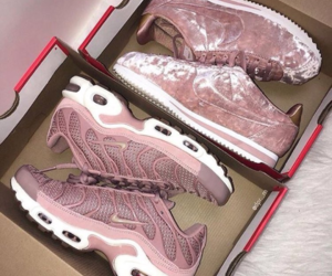 nike, pink, and rose image
