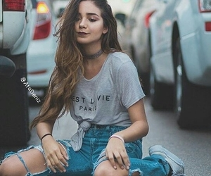 bracelets, hair, and chokers image