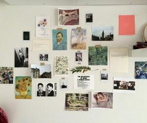 art, room, and wall image