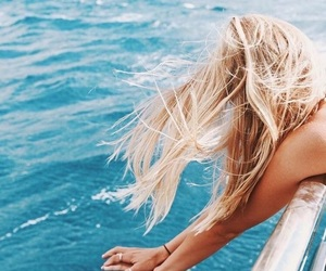 adventure, blonde, and ocean image