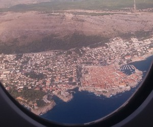 dubrovnik, old town, and plane image
