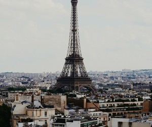 city, eiffelturm, and paris image