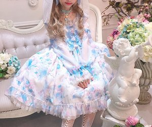angelic pretty, kawaii, and victorian image