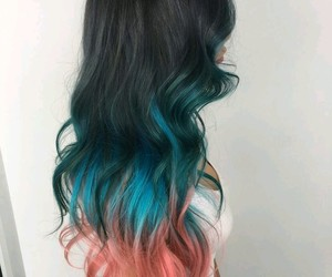 colorful hair and hair image
