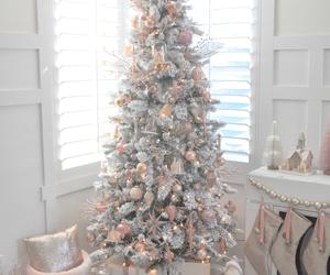christmas, lights, and merry christmas image