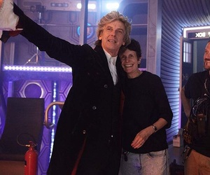 doctor who, twelfth doctor, and peter capaldi image