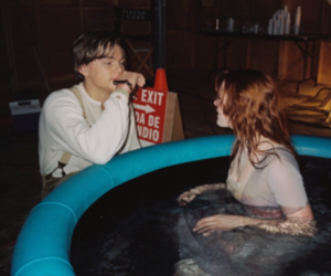 1990, blue, and couple image