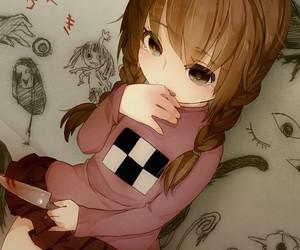 anime, yume nikki, and kawaii image