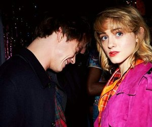 charlie heaton, natalia dyer, and stranger things image