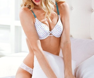 bed, blonde, and boudoir image