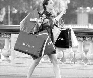 blair waldorf, fashion, and shopping image