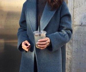 fashion, coat, and girl image