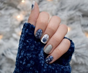 blogger, manicure, and nails image