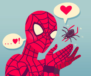 awesome, lol, and spiderman image