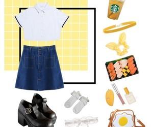 aesthetic, lolita, and school girl image