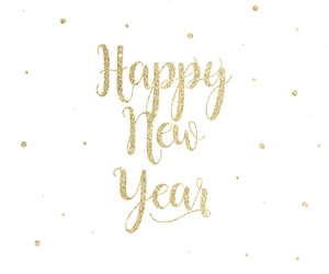 background, gold, and happy new year image