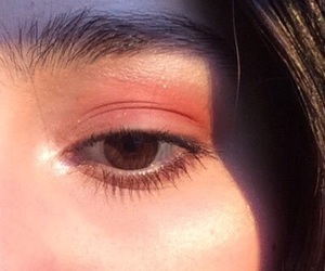aesthetic, eyeshadow, and fashion image