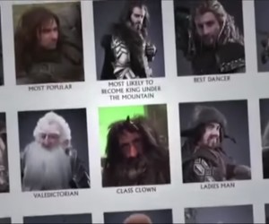 dwarves, dwalin, and the hobbit image