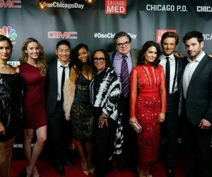 torrey devitto, colin donnell, and chicago med image