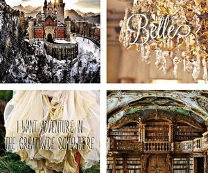 aesthetic, beauty and the beast, and princess image
