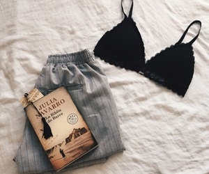 aesthetic, black, and books image
