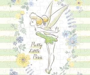 disney, fairy, and floral image