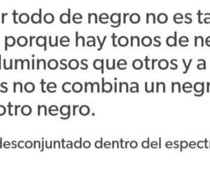 black, frases, and negro image