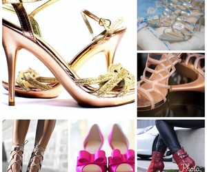 high heels, sparkle, and prom shoes image