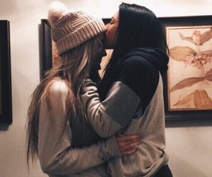 lesbian, girl girly lady, and alternative vintage image