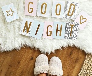 quotes, fashion, and good night image