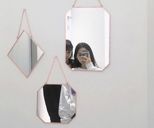 korean, mirror, and style image