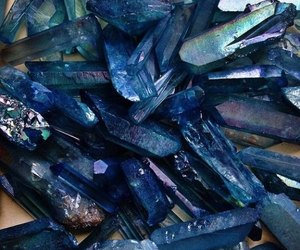blue, minerals, and stones image